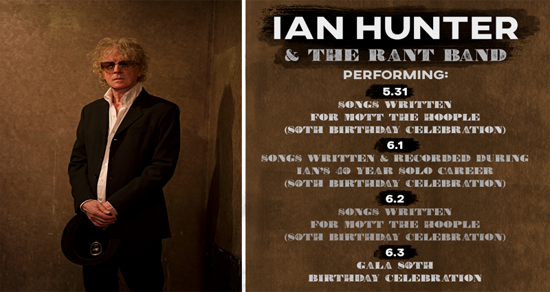 The Official Ian Hunter Website